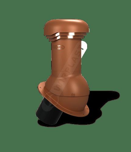 W06 kominek zodpływem kondensatu ceglasty