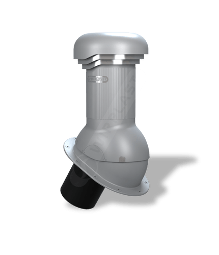 W06 kominek zodpływem kondensatu szary