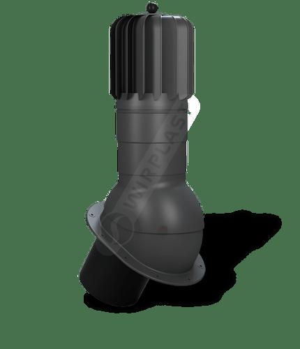 T51 kominek obrotowy zodpływem kondensatu grafitowy