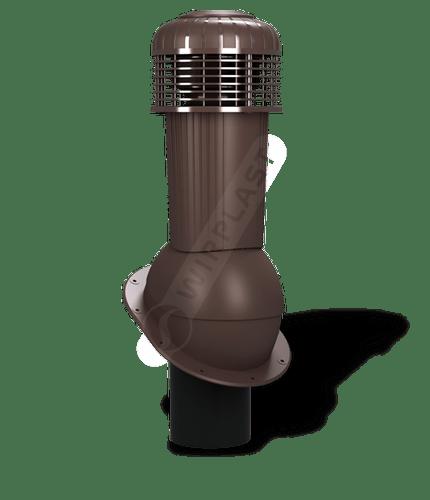 K90 wentylator dachowy zodpływem kondensatu brązowy 8017