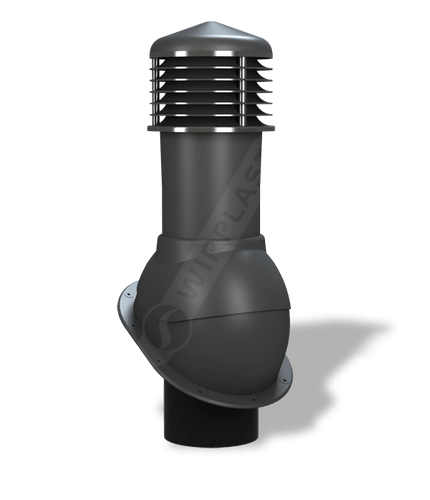 K52 kominek nieizolowany antracytowy