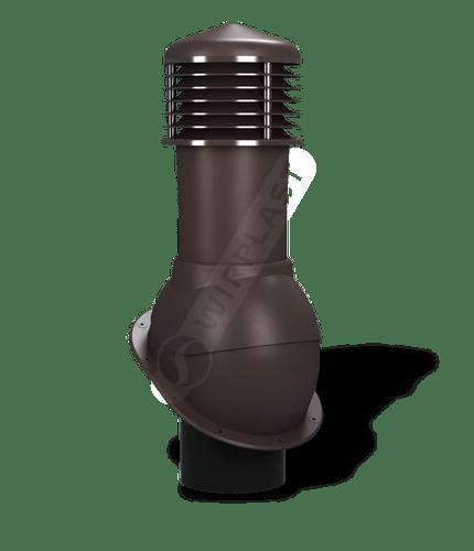 K52 kominek nieizolowany brązowy 8019