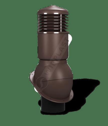 K54 kominek izolowany brązowy 8017