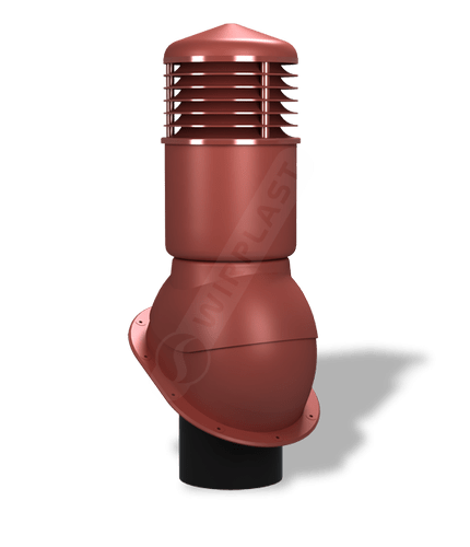 K54 kominek izolowany czerwony