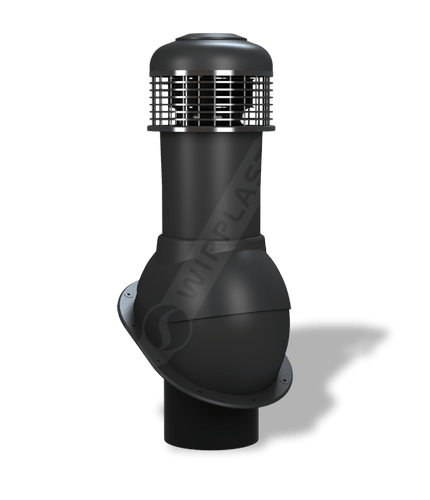 K66 wentylator dachowy czarny