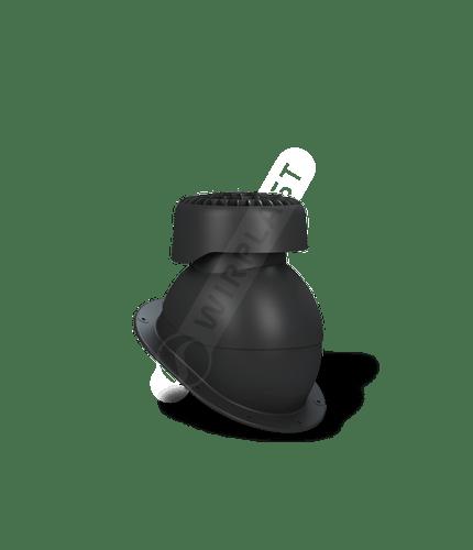 K83 wywietrznik kanalizacyjny czarny