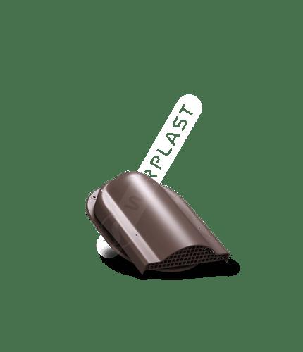 P19 wywietrznik połaciowy brązowy 8017