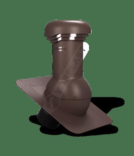 W03 wentylator dachowy zodpływem kondensatu brązowy