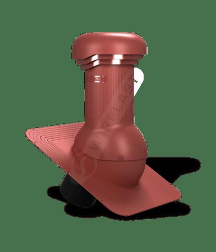 W04 wentylator dachowy zodpływem kondensatu czerwony