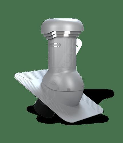 W04 wentylator dachowy zodpływem kondensatu szary