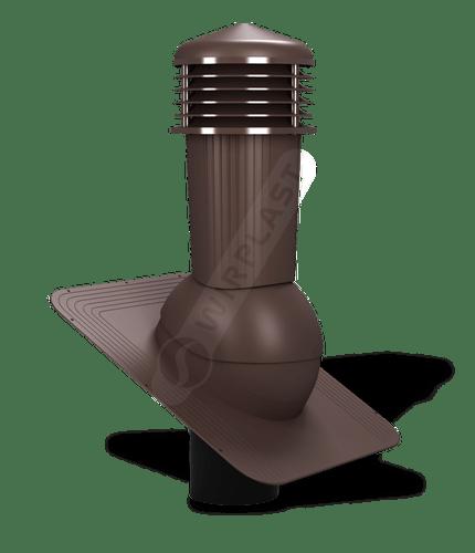 K80 kominek zodpływem kondensatu brązowy