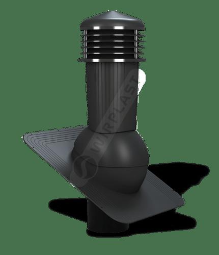 K80 kominek zodpływem kondensatu czarny