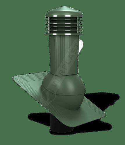 K80 kominek zodpływem kondensatu zielony