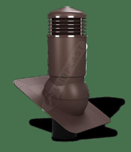 K81 kominek izolowany brązowy