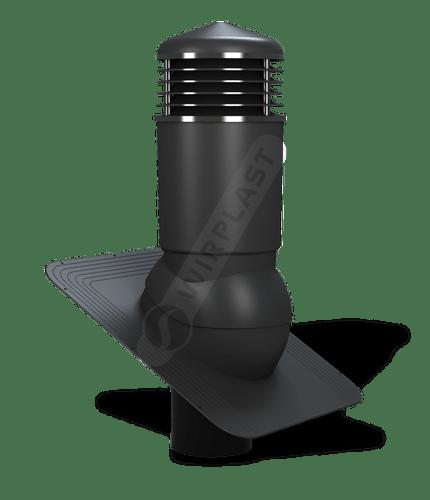 K81 kominek izolowany czarny