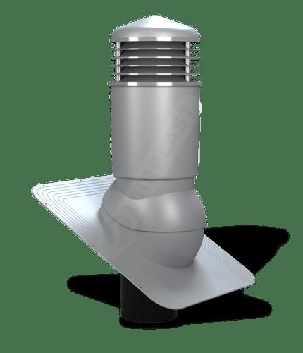 K81 kominek izolowany szary