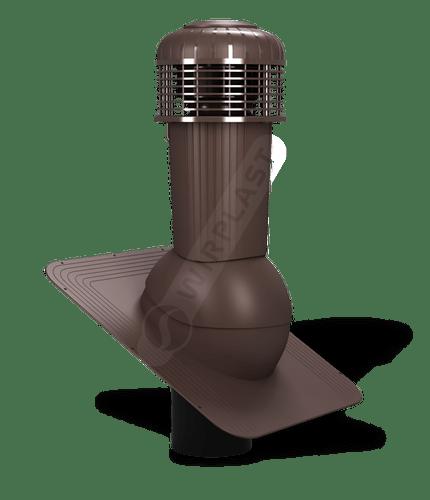 K87 wentylator dachowy zodpływem kondensatu brazowy