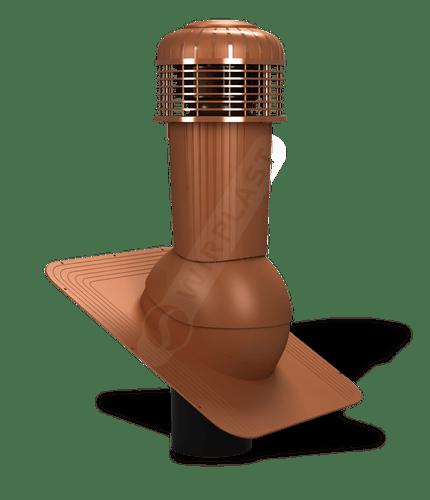K87 wentylator dachowy zodpływem kondensatu ceglasty