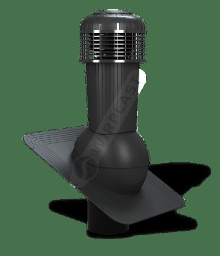 K87 wentylator dachowy zodpływem kondensatu czarny