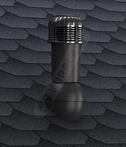 K87 wentylator dachowy czarny