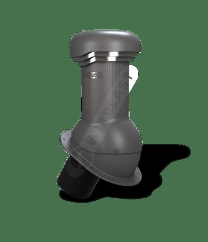 W05 kominek dn 125 zodpływem kondensatu grafitowy