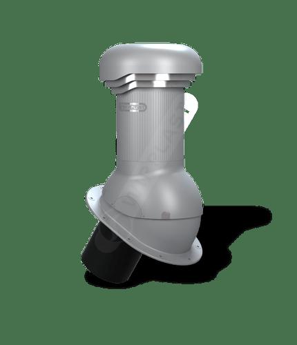 W05 kominek dn 125 zodpływem kondensatu  szary