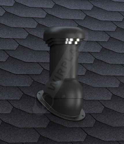W07 wentylator dachowy gont czarny
