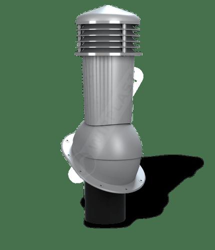 K88 kominek dn125 zodpływem kondensatu szary