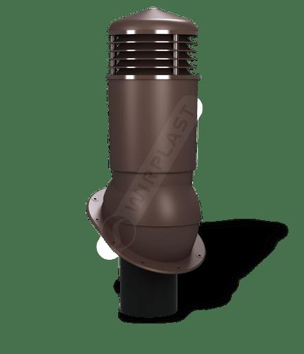 K89 kominek dn125 izolowany brązowy 8017