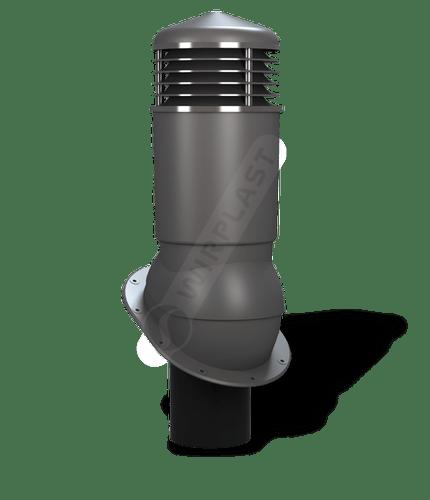 K89 kominek dn125 izolowany grafitowy