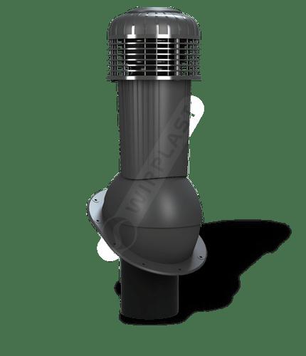 K90 wentylator dachowy dn125 zodpływem kondensatu antracytowy