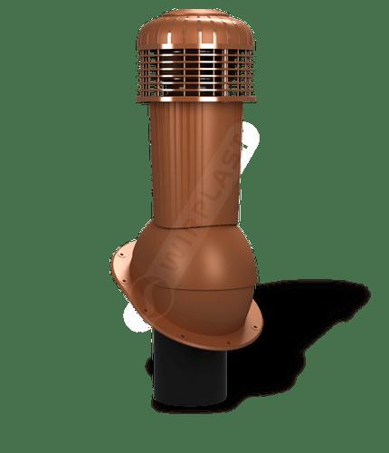 K90 wentylator dachowy dn125 zodpływem kondensatu ceglasty