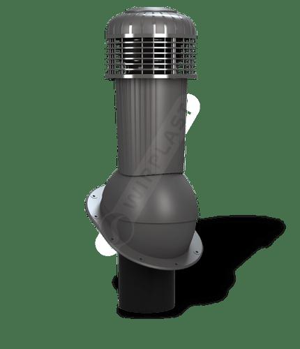 K90 wentylator dachowy dn125 zodpływem kondensatu grafitowy