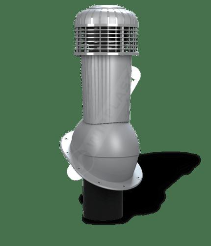 K90 wentylator dachowy dn125 zodpływem kondensatu szary