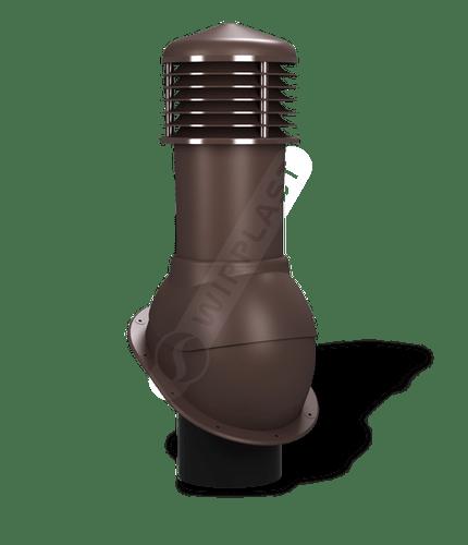 K52 kominek dn150 nieizolowany brązowy 8017