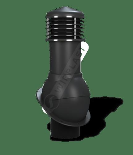 K52 kominek dn150 nieizolowany czarny