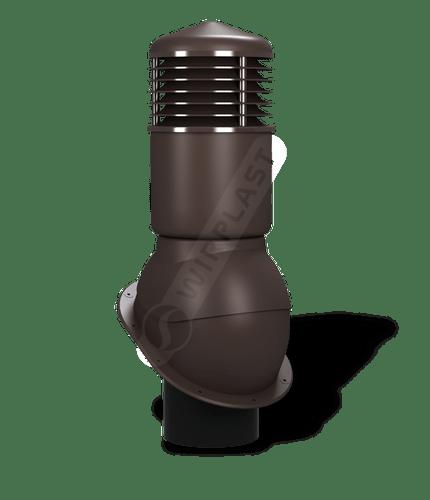 K54 kominek dn150 izolowany brązowy 8019