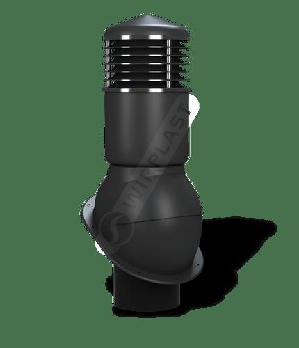 K54 kominek dn150 izolowany czarny