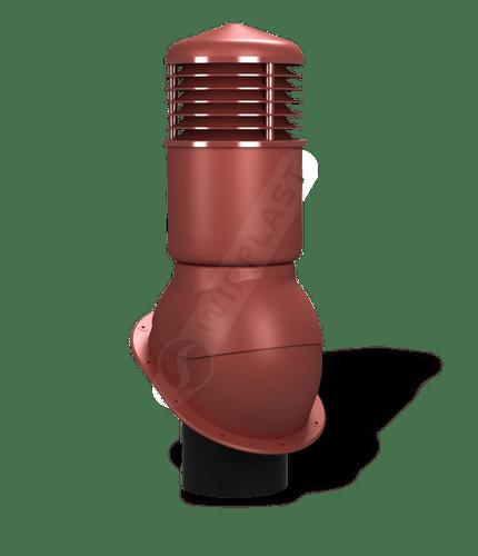 K54 kominek dn150 izolowany czerwony