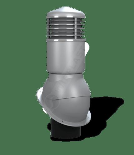 K54 kominek dn150 izolowany szary