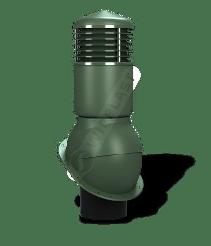 K54 kominek dn150 izolowany zielony
