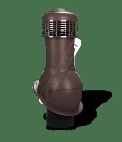 K66 wentylator dachowy dn150 brązowy 8017