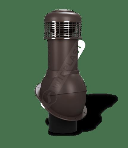 K66 wentylator dachowy dn150 brązowy 8019