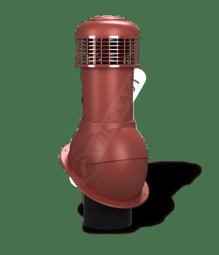 K66 wentylator dachowy dn150 czerwony