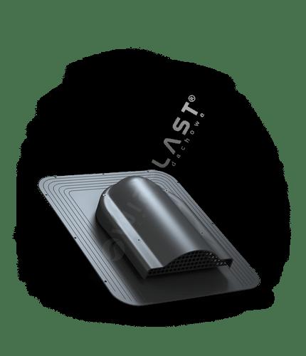 P17 wywietrznik połaciowy czarny