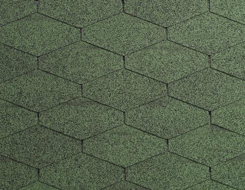 Gonty dachowe Diamant Plus, Amazon Green 03