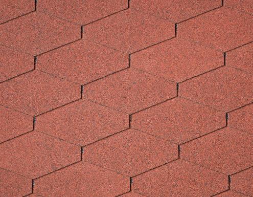 Gonty dachowe DiamantShield, Tile Red 10