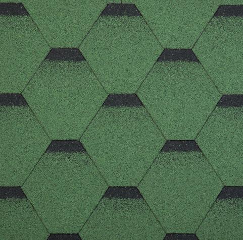 gonty bitumiczne Classic Sonata Verssales Zielony