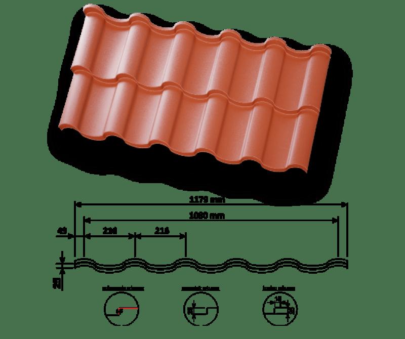 Dachówka Panelowa Piano Panel Estetica