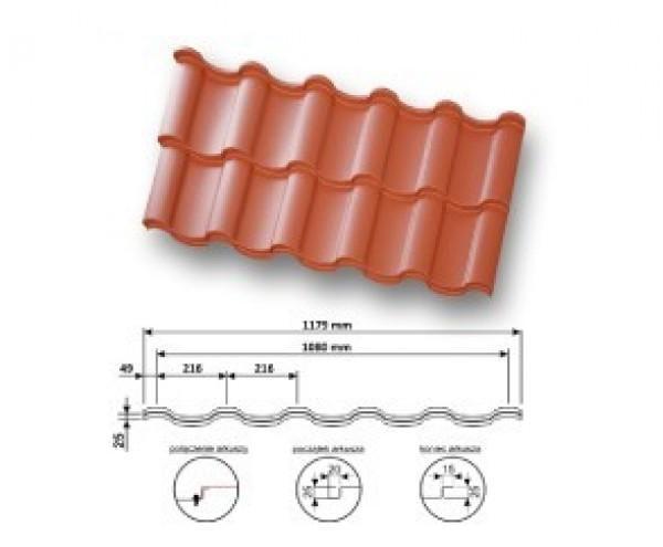 Dachówka Panelowa Piano Panel Standard